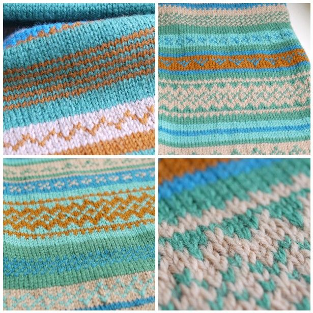 189 best Fair Isle Knitting images on Pinterest | Colors, Fabric ...
