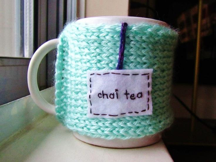 "Onana Snug Mug Cozy || ""Chai Tea"""