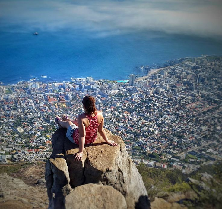 Lionshead Cape Town. What a beautiful view!