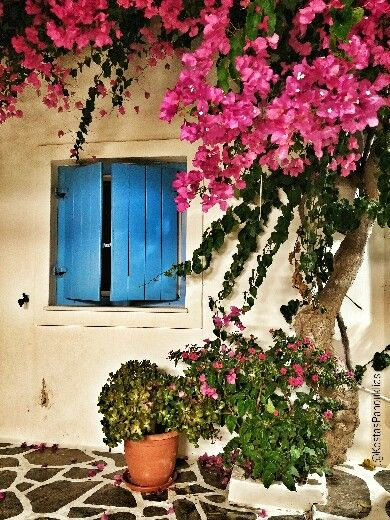 Antiparos island Greece