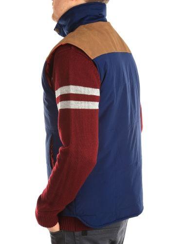 Insulaner Vest [navy] // IRIEDAILY Jackets Men // FALL/WINTER 2014: http://www.iriedaily.de/men-id/men-jackets/ #iriedaily