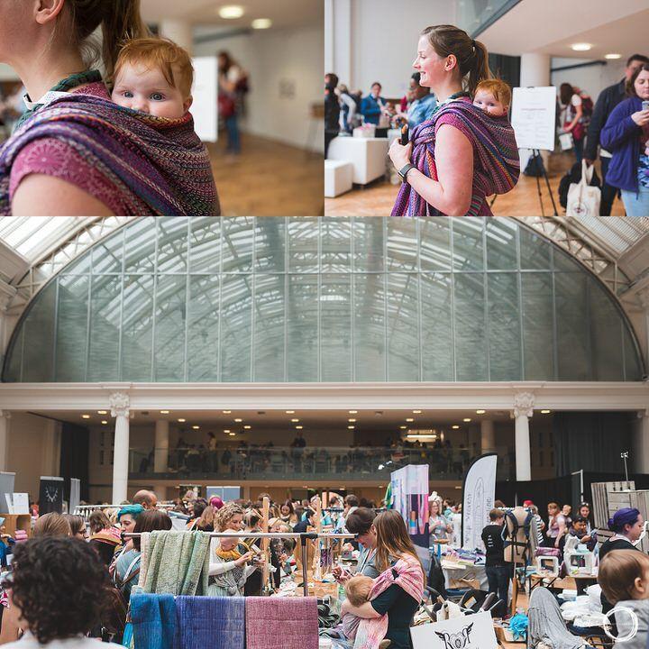 Lindley Hall London Wrap Show 2017. #wrapshow2017 #londonbabywearing #babywearing #ottawaphotographer