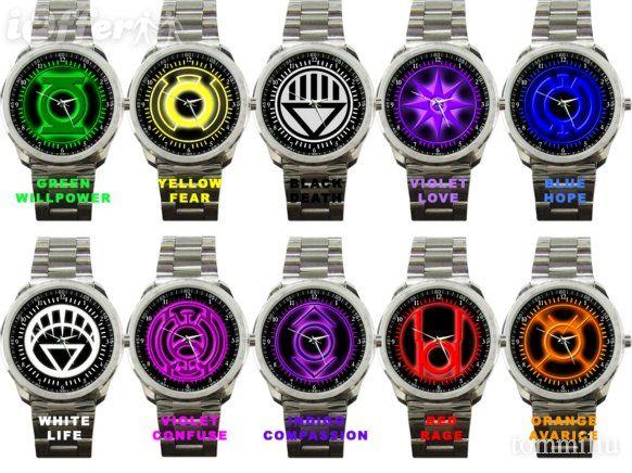 DC's Power Ring Logo Watches.   Superhero Style!   Ring logo, Superhero fashion, Watches