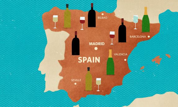 Most popular Spanish wines/If you love rich reds, aromatic whites, or crisp, refined sparkling, you should know Spain's wine better.