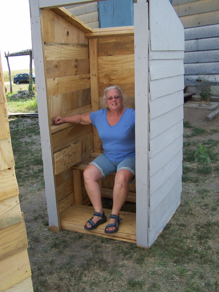 Building Outhouses On Pine Ridge Indian Reservation In Sd