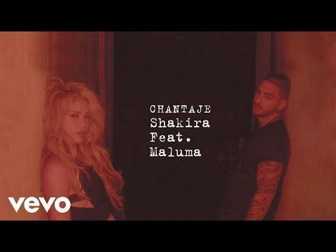 Shakira - Chantaje ft. Maluma (Audio Music)