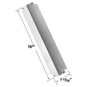 STAINLESS STEEL REPLACEMENT HEAT SHIELD FOR CHARBROIL 463261006, 463261106, KENMORE SEARS, THERMOS, LOWES MODEL GRILLS AND OTHERS