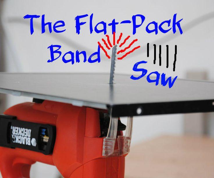 Sticksåg som bordssåg figursåg Building The Flat-Pack Bandsaw (AKA the Jigsaw Table) | DIY Woodworking Tools #6