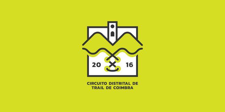 Logo for Circuito Distrital de Trail de Coimbra