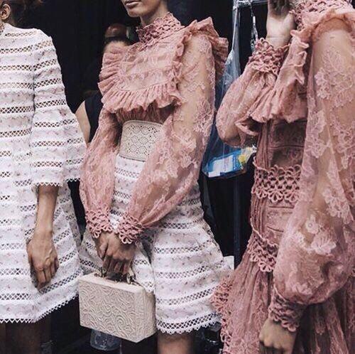 TheyAllHateUs | beckjewels inspiration | feminine | lace and blush
