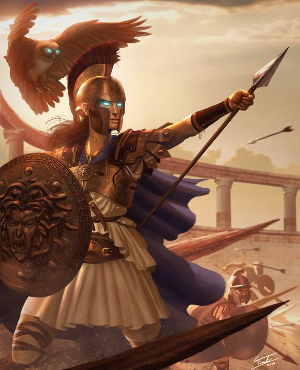Great art of Athena.