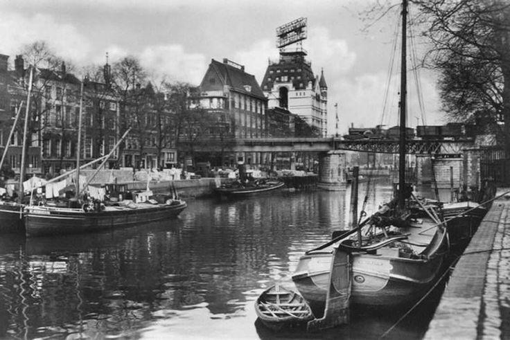 Wijnhaven Rotterdam (jaartal: 1920 tot 1930) - Foto's SERC