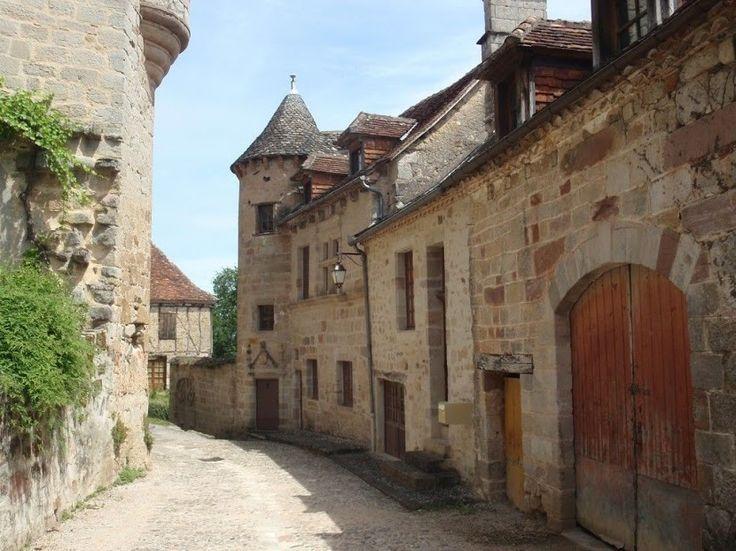 Curemonte, France.