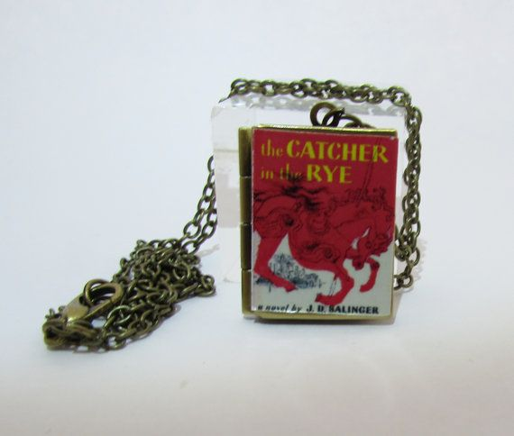 The catcher in the rye Vintage BookLocket Pendant by Freaklikemee