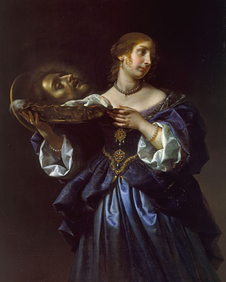 The Art of Italy in the Royal Collection - The Baroque: Salome with the Head of St John the Baptist, ca. 1665-70