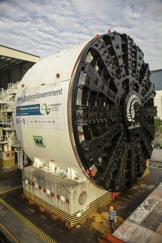 TBM- tunnel boring machine