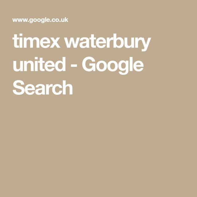 timex waterbury united - Google Search
