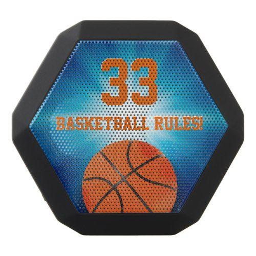 Basketball Rules! | Sport Gift Black Bluetooth Speaker