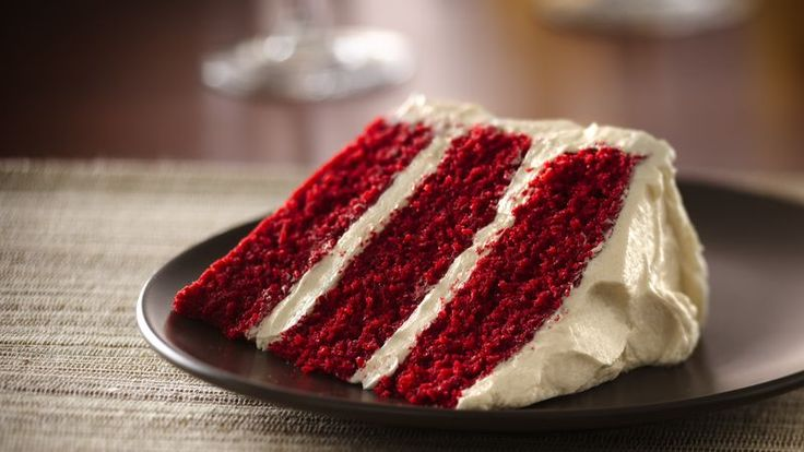 Make this classic cake from scratch! Although the exact origins of red velvet cake remain a mystery, one thing is certain: its' smooth texture and buttery-rich frosting make it an all-time favorite for any time of year.