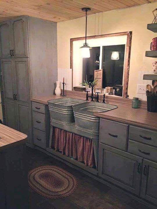 Wash Tub Sinks