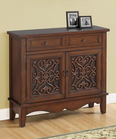 Another great find on #zulily! Dark Walnut Accent Chest #zulilyfinds