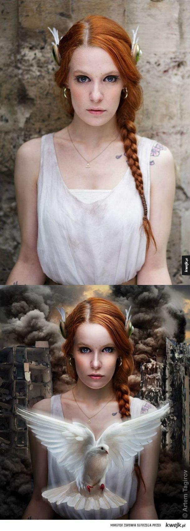 Niesamowite metamorfozy w Photoshopie - photoshop, zdjęcie, komputer, grafik, obróbka zdjęć