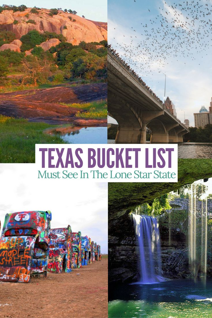Amazing sites to see in Texas. Must add these to your bucket list.