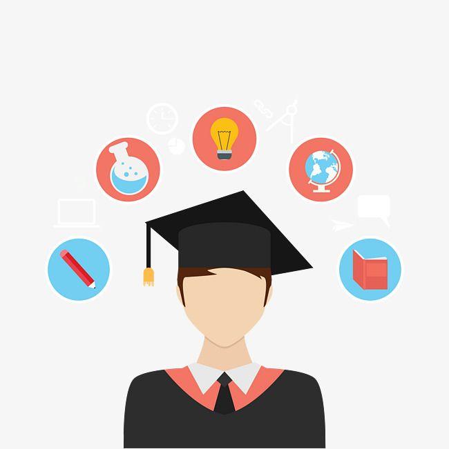 Estudiantes De Vectores La Vida Universitaria Vector Masculino Png Y Psd Para Descargar Gratis Pngtree Graphic Design Background Templates Brain Illustration Graphic Design Illustration