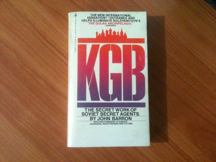 KGB, The secret job of the secret agents - John Barron.
