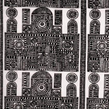 Vintage Finnish Fabric made by Porin puuvilla. Design Raili Konttinen, 1967-69.