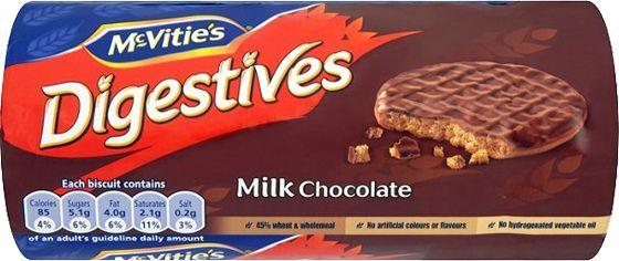 Food Ireland Mc Vities Digestive Milk Choc 300g (10.6oz)