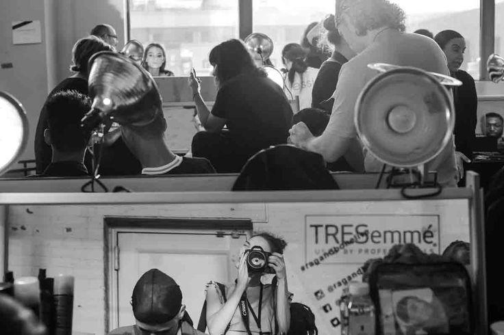 #NYFW #BackstageTRESemmé Desfile Carolina Herrera