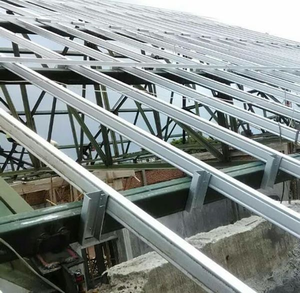 Pemasangan Atap Baja Ringan Balikpapan Advertising Jasa Produksi Neon Box Toko Bangunan