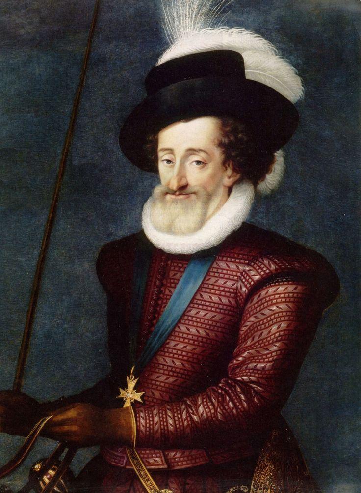 Portrait de Henri IV, roi de France et de Navarre, attribué à Guillaume Heaulme