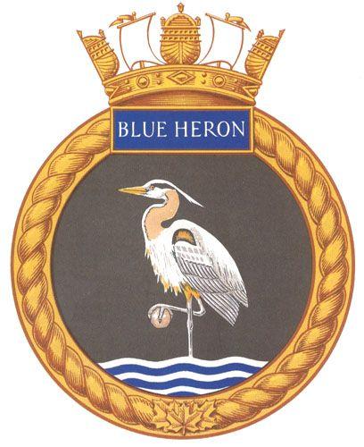 RCMP Vessel Blue Heron MP 32 - former HMCS Blue Heron