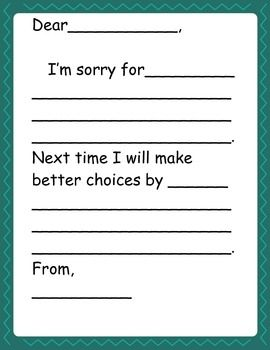How to write apology letter to teacher for not doing homework