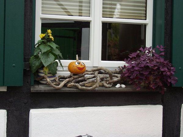 Fensterbank außen dekorieren  42 besten Fensterdeko innen und außen Bilder auf Pinterest ...