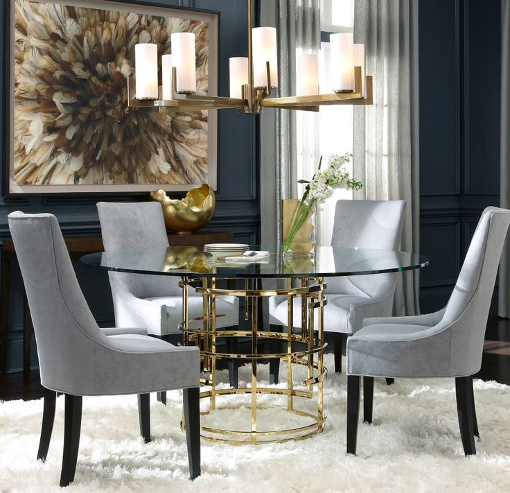 """JULES 60"""" DINING TABLE - 18 Best DINING ROOMS Images On Pinterest"""