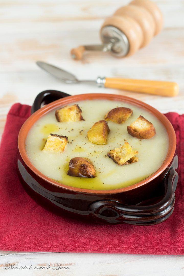 Vellutata porri e patate, delizioso comfort food