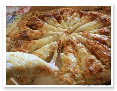Homemade Pizza Recipe - I use my refrigerator sour dough recipe (as does the originator of this recipe) for this