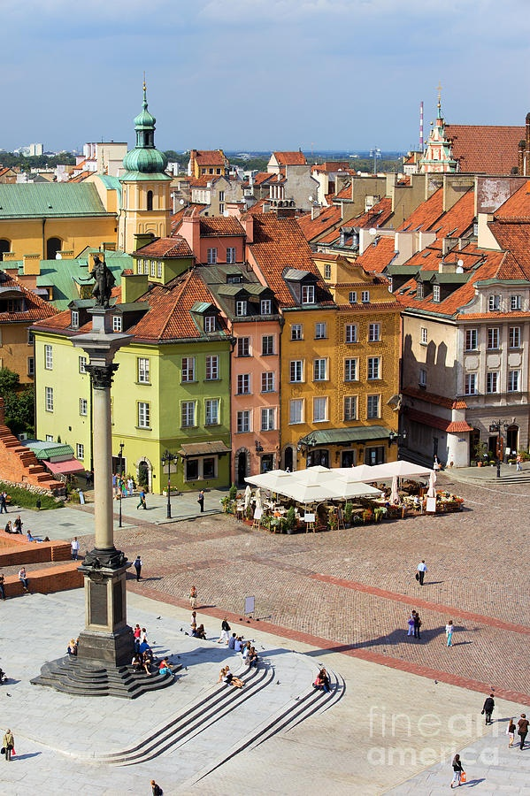Old Town in Warsaw Photograph  - Arthur Bogacki