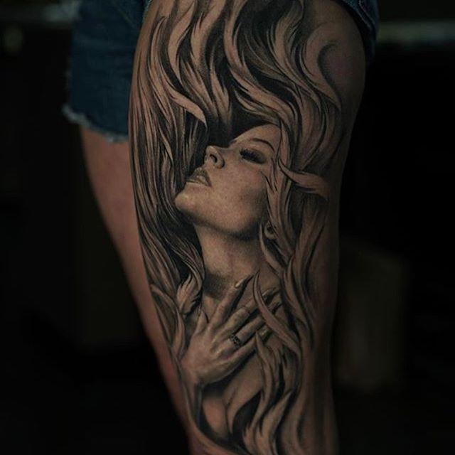 Gambar Tato 3d Keren Terlihat Hidup Seperti Asli Kutipan Wahok Terbaru Portrait Portrait Tattoo Tattoos