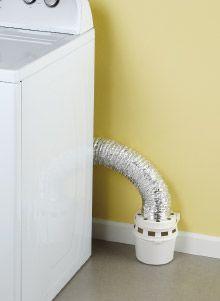 Indoor Dryer Vent Kit