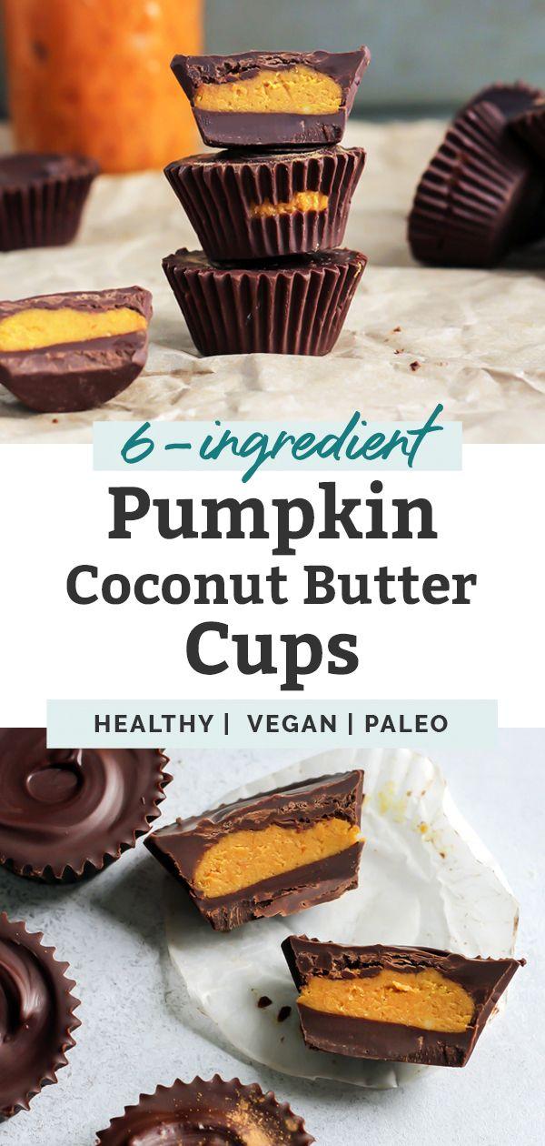 Pumpkin Spice Chocolate Coconut Butter Cups
