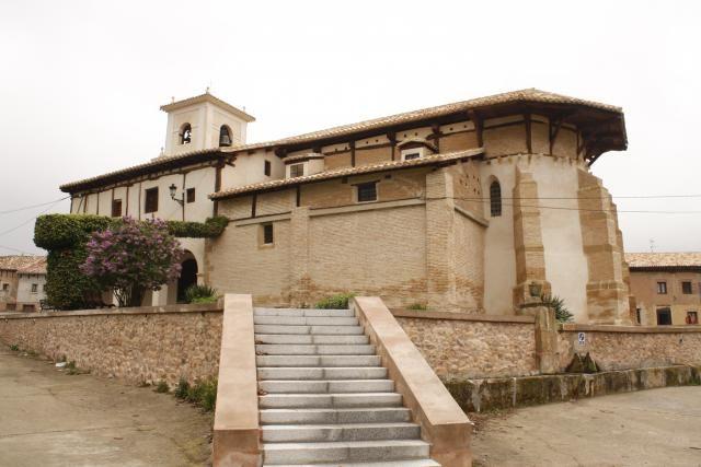 Iglesia de Viloria de Rioja, Burgos, Camino de Santiago