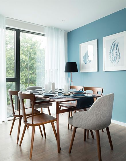 The Gramercy Development, The Manser Practice  #residential #artwork #dressing #decoration #showflat #Gramercy #Greenwich #colour #design #interiors #themanserpractice #finishings #diningroom #diningchairs #diningtable #artwork #lamp #pictures #flooring