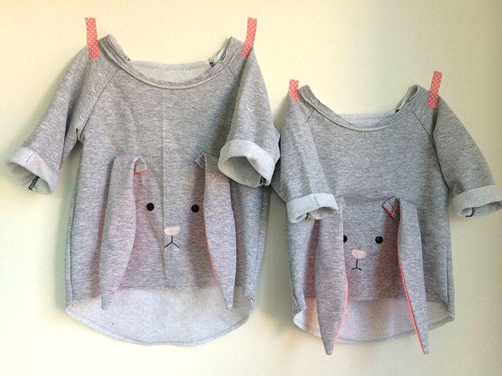 DIY-Anleitung Bunny Shirt                                                                                                                                                                                 Mehr