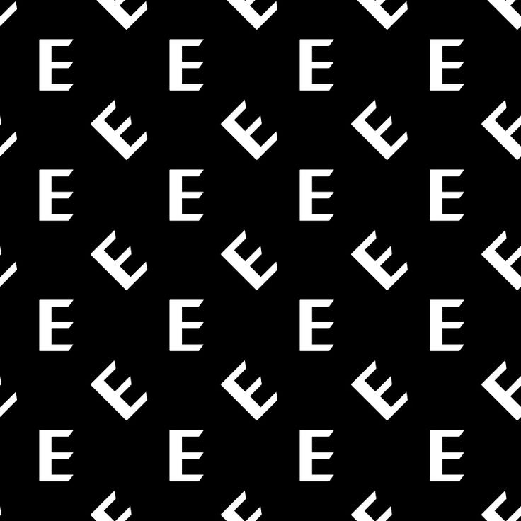 Logo / pattern by BankerWessel for Elvine, clothing company from Gothenburg, Sweden.