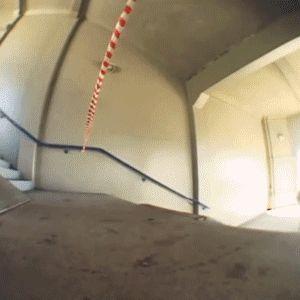 Cool skateboard trick