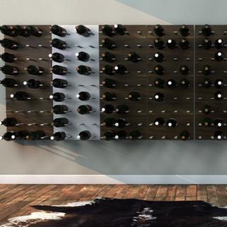 Fini le casier de rangement de grand père, désormais vous sublimerez votre vin avec ces rangements muraux pour bouteilles de vin !
